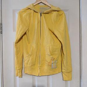 AE yellow zipper hoodie